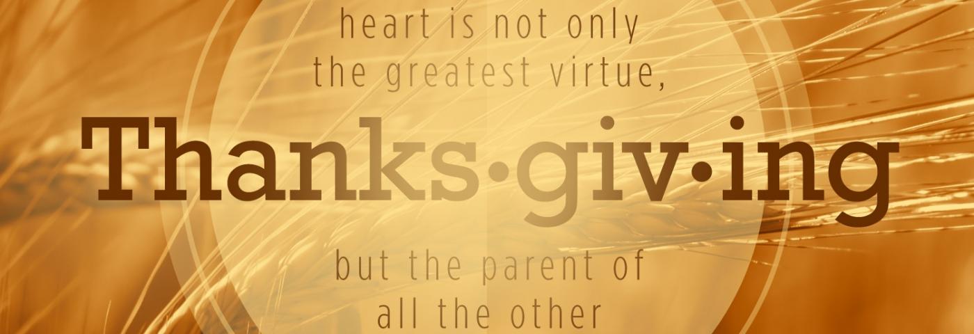 Thanksgiving Woship